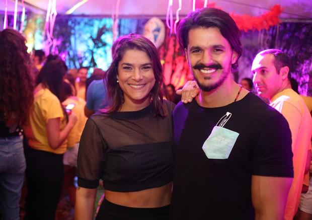 Priscila Fantin e o namorado Bruno Lopes (Foto: Luciana Serra/Divulgação)