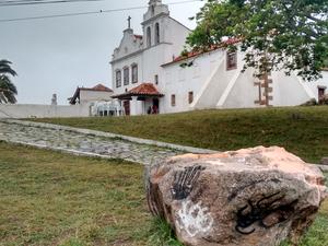 Convento tem arquitetura colonial (Foto: Paulo Henrique Cardoso/ G1)