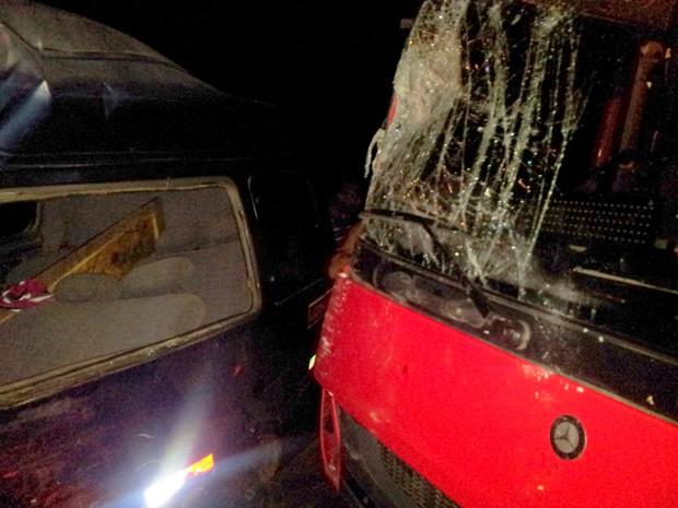 14 pessoas ficam feridas em acidente em Santo Antônio de Jesus (Foto: Site Voz da Bahia / Divulgação)