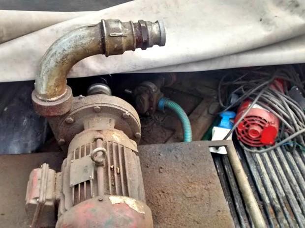 Material apreendido durante a operação (Foto: Suelen Gonçalves/G1 AM)