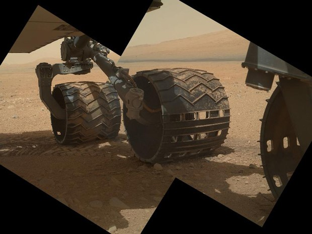 Nasa abre tampa da câmera do Curiosity e revela fotos mais nítidas de Marte (Foto: NASA/JPL-Caltech/Malin Space Science Systems)