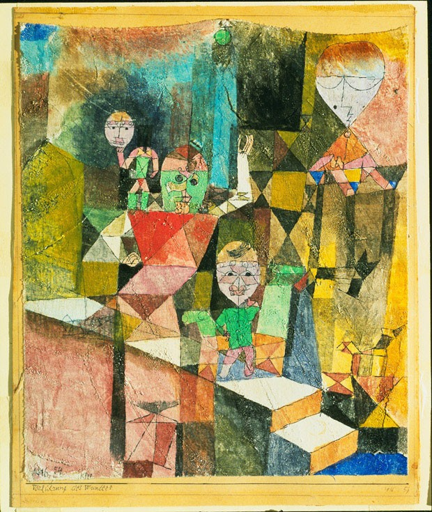Klee, Paul (1879-1940): Vorfuehrung des Wunders (Introducing the Miracle), 1916.. New York, Museum of Modern Art (MoMA)*** Permission for usage must be provided in writing from Scala.  (Foto: www.scalarchives.com)