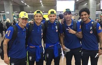 Amigos na seleção sub-20, Paquetá e Douglas se reencontram no clássico