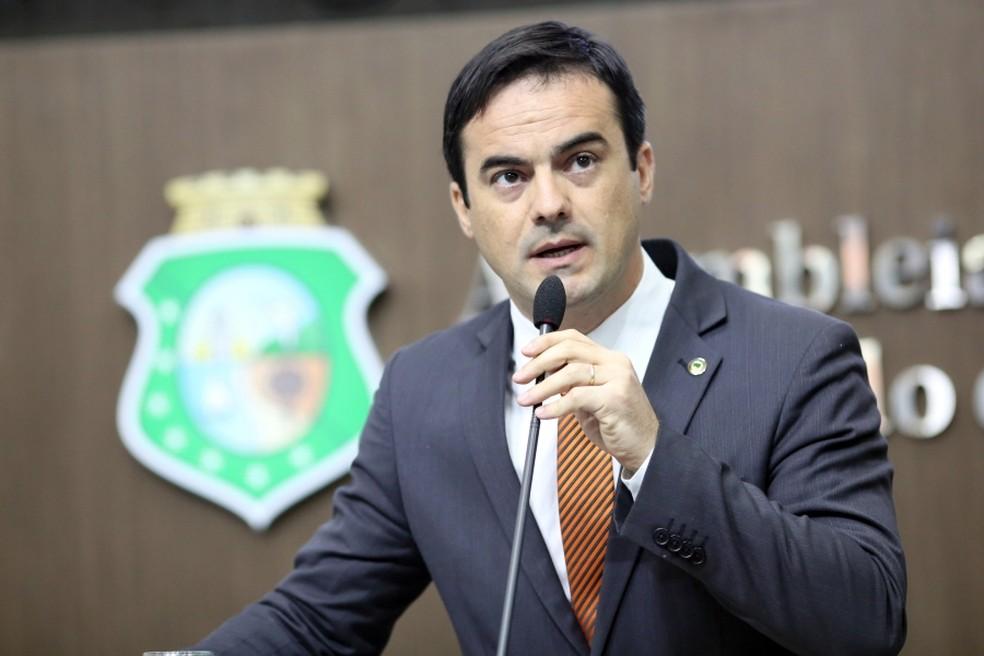 Deputado Capitão Wagner pede impeachment do governador Camilo Santana com base nas delações da JBS (Foto: Assembleia Legislativa/Divulgação)