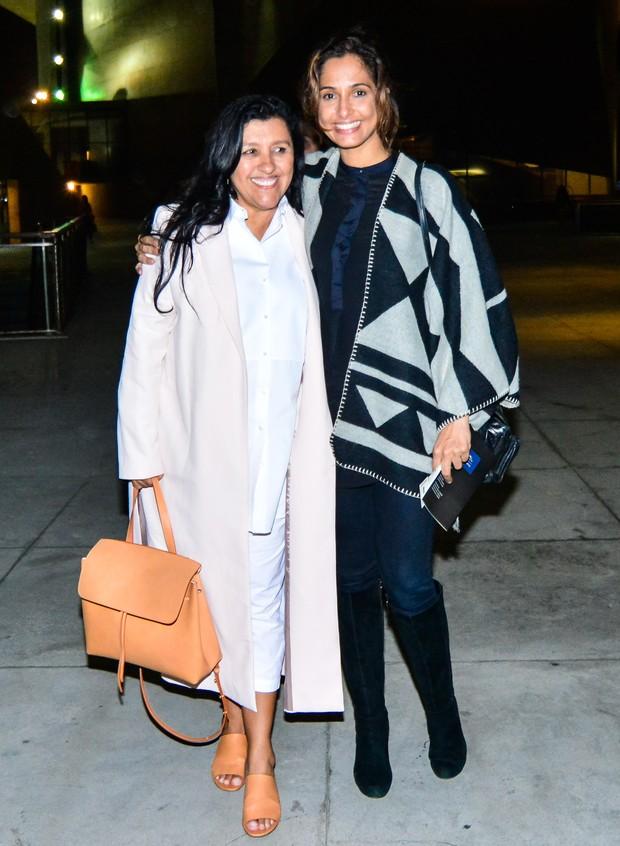 Regina Casé e Camila Pitanga (Foto: Glaucon Fernandes/Brazil News)