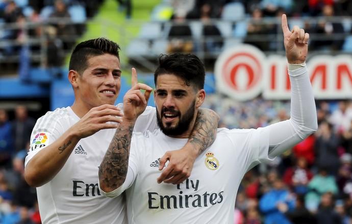 Isco Getafe Real Madrid (Foto: Reuters)