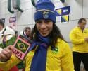 Jaque Mourão 'aquece' para carregar bandeira do Brasil: 'Muita emoção'