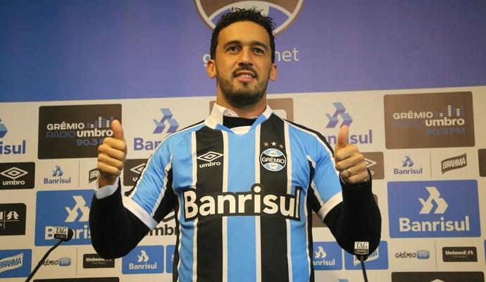 Edílson Grêmio (Foto: Eduardo Deconto/GloboEsporte.com)