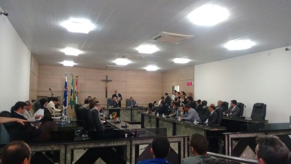 Projeto foi aprovado na Câmara Municipal de Caruaru (Foto: Mário Flávio/G1)