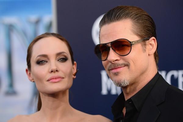 Angelina Jolie e Brad Pitt já estariam morando em Londres com os filhos (Foto: Getty Images)
