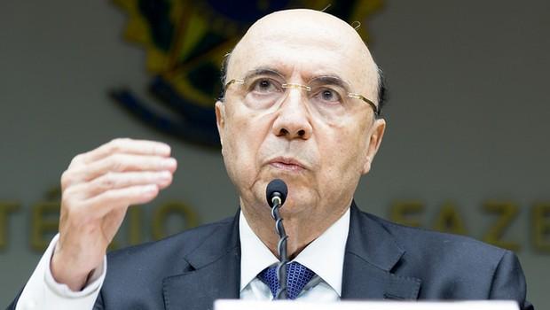 Henrique Meirelles e equipe econômica concede entrevista coletiva para anunciar meta de inflação para 2019 de 4,25% (Foto: Gustavo Raniere/MF)