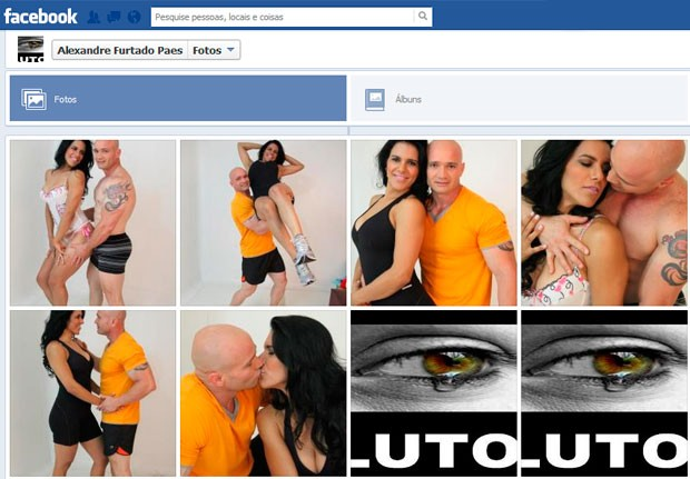 Empresário Alexandre Furtado Paes mantém mensagem de luto em seu perfil no Facebook (Foto: Reprodução/Facebook)