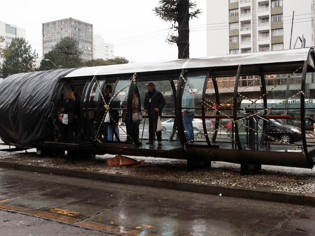 Total do prejuízo no Centro Cívico chega a R$ 1,5 milhão, diz prefeitura (Foto: Divulgação/Prefeitura de Curitiba)