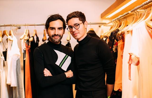 André Boffano e Samuel Santos (Foto: Leca Novo)