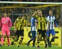 Torcida bate recorde, mas Dortmund fica no empate com o Hertha Berlim