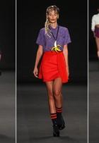 Anderson Silva, Thaila Ayala e Yasmin Brunet desfilam no Fashion Rio