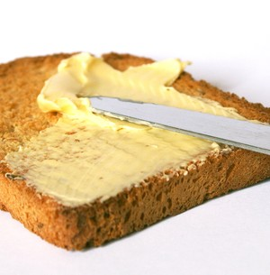 Pão cai com a manteiga para baixo: A Lei de Murphy (Foto: Divulgação / Banco de Imagens)