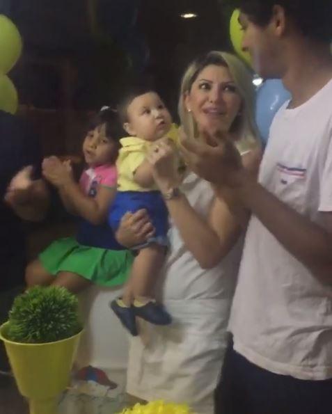 Antonia Fontenelle com o filho Salvatore (Foto: Reprodução / Instagram)