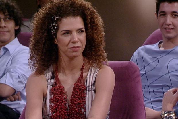 Vanessa da mata fala sobre adoção (Foto: Encontro / TV Globo)