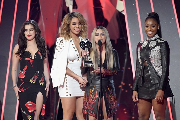 Fifth Harmony no iHeartRadio Music Awards 2017 (Foto: Getty Images)