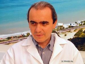 Fernando Pinto, presidente da Coopmed/RN (Foto: Ricardo Araújo/G1)