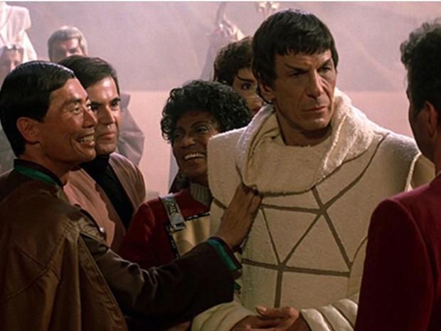 """Leonard Nimoy assumiu a direção em """"Jornada nas estrelas: À procura de Spock' (Foto: Divulgação)"""