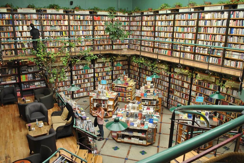 Libreria El Pendulo - Cidade do México, México (Foto: Reprodução)