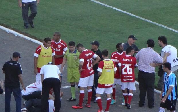 grêmio inter gre-nal confusão (Foto: Hector Werlang/Globoesporte.com)