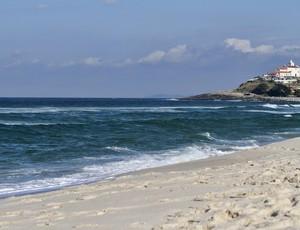 Praia de Itaúna, em Saquarema (Foto: Daniel Smorigo / ASP)