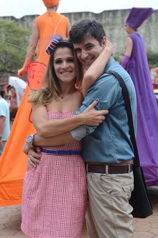 Ingrid Guimarães grava despedida de solteira (Foto: TV Globo / Zé Paulo Cardeal)