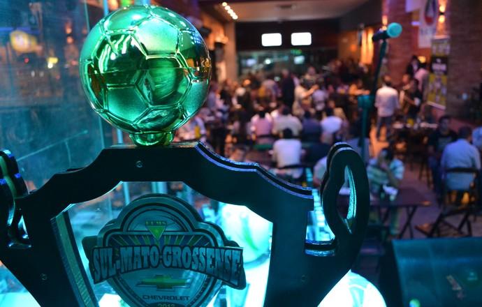 Premiação da Seleção do Campeonato Sul-Mato-Grossense 2013 (Foto: Lucas Lourenço/GE MS)