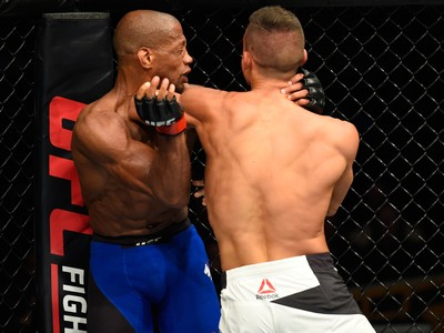 Tom Duquesnoy x Patrick Williams UFC Kansas City (Foto: Getty Images)