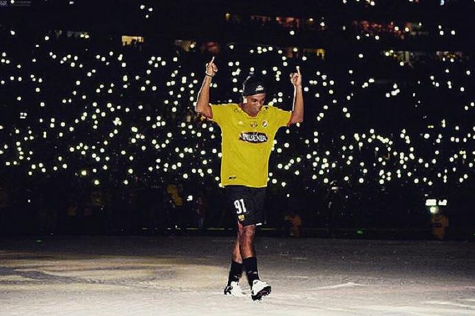 Ronaldinho Barcelona Guayaquil