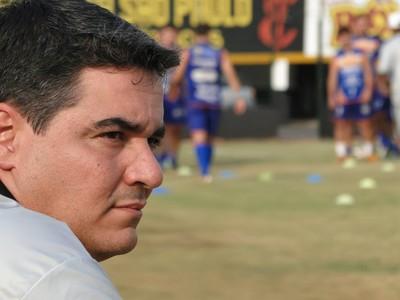 Tuca Guimarães, técnico do Comercial (Foto: Rafael Alves / Comercial FC)