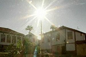 Centro histórico de Paracatu é tombado como patrimônio cultural brasileiro (Foto: Reprodução de vídeo)