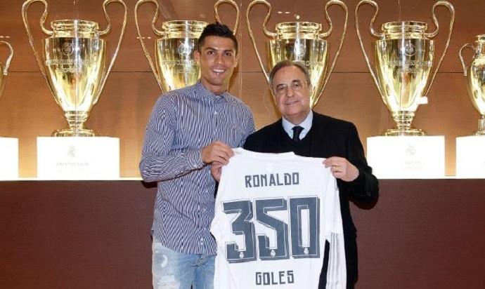 Cristiano Ronaldo 350 gols