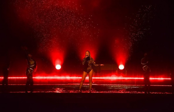Beyoncé durante apresentação no BET Awards (Foto: Reprodução / Instagram)