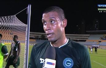 """Léo Lima lamenta empate e diz que """"torcida tem razão"""" em vaiar o Goiás"""