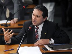 O deputado Natan Donadon (PMDB-RO) na Câmara (Foto: Leonardo Prado / Agência Câmara)