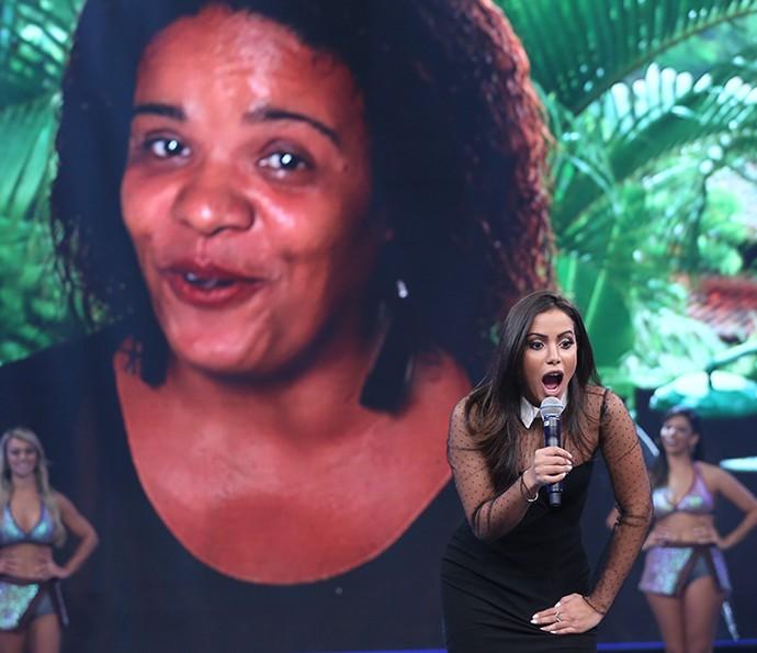 Amiga que deu primeira oportuniade para Anitta supreendeu cantora (Foto: Carol Caminha/Gshow)