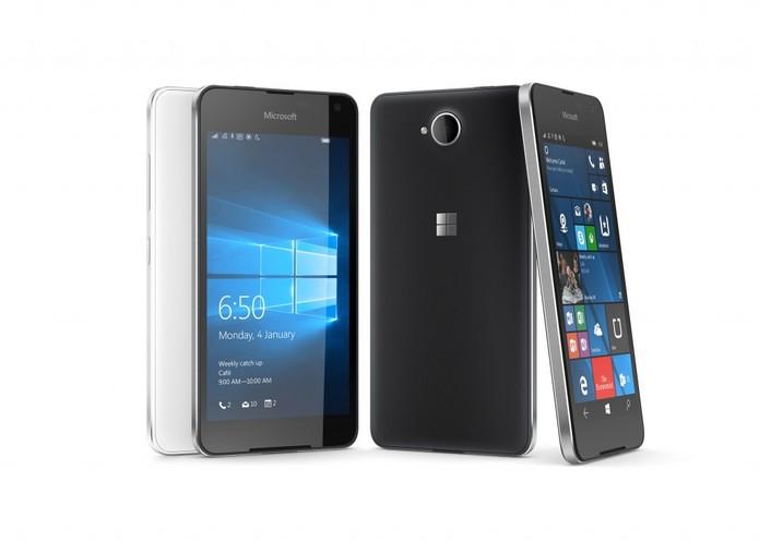 Lumia 650 foi divulgado dias antes da MWC 2016 (Foto: Divulgação/Microsoft)