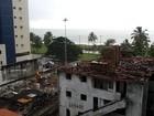 Com autorização judicial, construtora volta a demolir o Edifício Caiçara