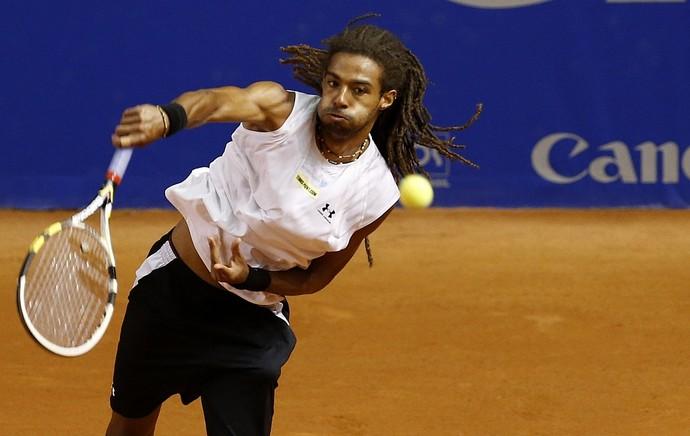 Dustin Brown tênis Brasil Open duplas (Foto: Marcelo Ferrelli/inovafoto)