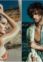 Isabelli Fontana e Marlon Teixeira mostram boa forma em campanha