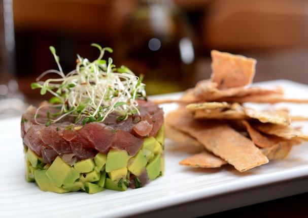 Tartare de atum com avocado  (Foto: Divulgação)