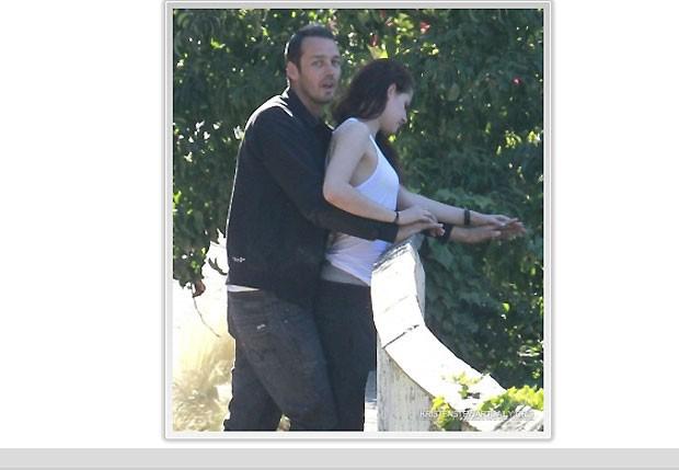 Rupert Sanders e Kristen Stewart  (Foto: Divulgação)