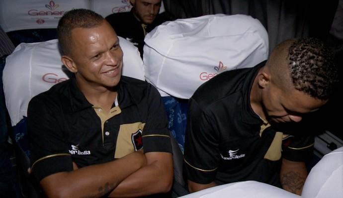 Desembarque Botafogo-PB (Foto: Pablo Silva)