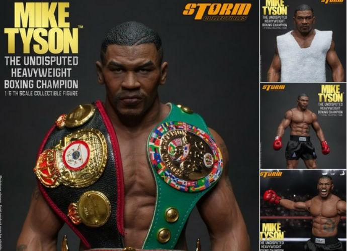 Mike Tyson ganha bonecos personalizados (Foto: Reprodução Twitter)
