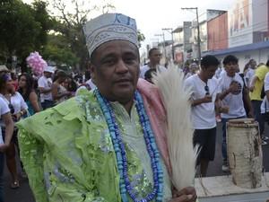 Sacerdote pai Marcos (Foto: Dyepeson Martins/G1)