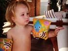 Cunhada de Dani Winits posta foto do pequeno Guy: 'cada dia mais lindo'